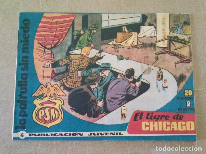 PATRULLA SIN MIEDO Nº 4 -HISPANO AMERICANA -T (Tebeos y Comics - Hispano Americana - Otros)