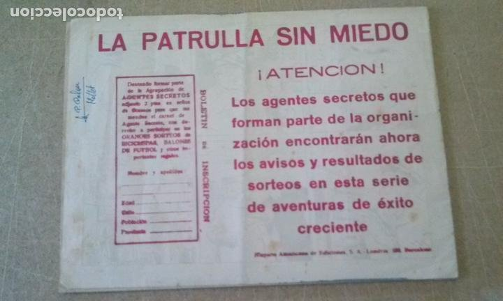 Tebeos: patrulla sin miedo nº 11 -hispano americana -t - Foto 2 - 255522280
