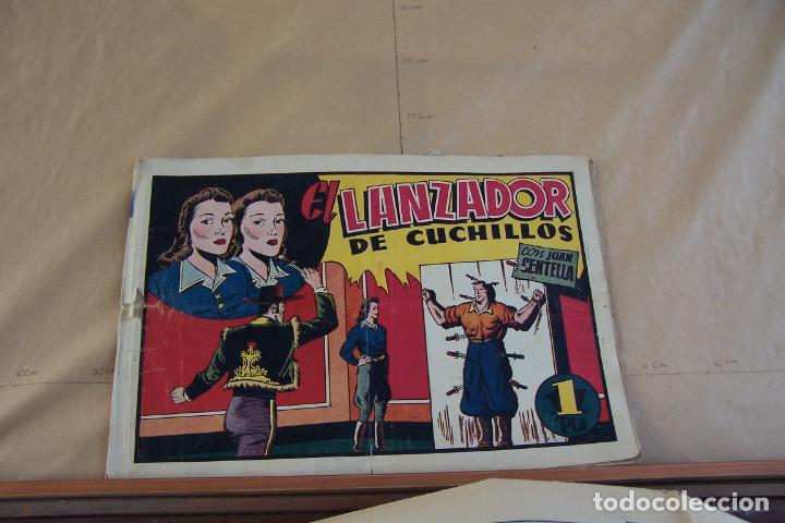 HISPANO AMERICANA,- JUAN CENTELLA Nº 69 EL LANZADOR DE CUCHILLOS (Tebeos y Comics - Hispano Americana - Juan Centella)