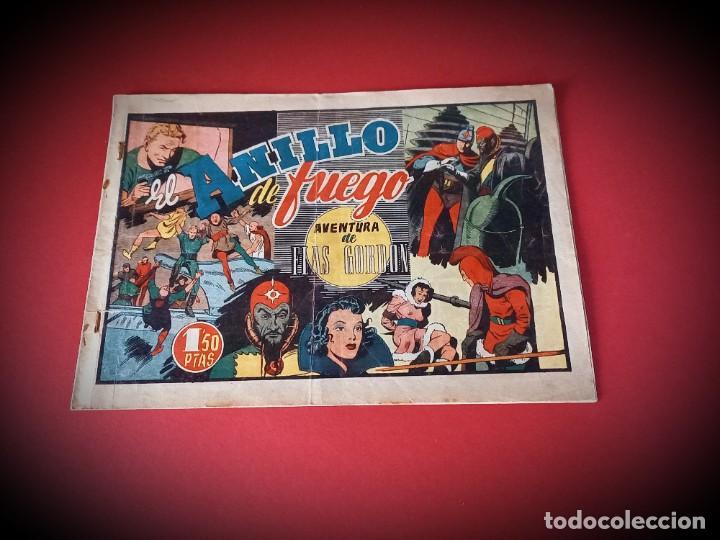FLAS GORDON- EL ANILLO DE FUEGO -HISPANO AMERICANA (Tebeos y Comics - Hispano Americana - Flash Gordon)