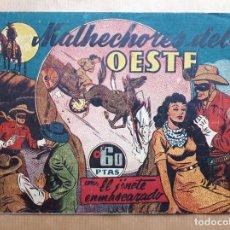 Livros de Banda Desenhada: EL JINETE ENMASCARADO Nº 14 - MALHECHORES DEL OESTE - HISPANO AMERICANA 1943. Lote 260075535