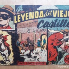 Livros de Banda Desenhada: EL JINETE ENMASCARADO Nº 12 - LA LEYENDA DEL VIEJO CASTILLO - HISPANO AMERICANA 1943. Lote 260075855