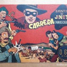 Livros de Banda Desenhada: EL JINETE ENMASCARADO Nº 16 - LA GRAN CARRERA - HISPANO AMERICANA 1943. Lote 260076345