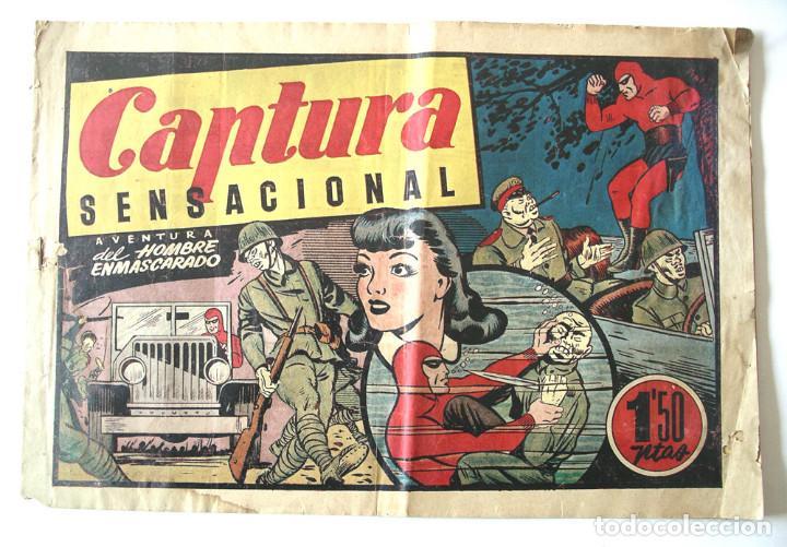 EL HOMBRE ENMASCARADO Nº 56 CAPTURA SENSACIONAL (Tebeos y Comics - Hispano Americana - Hombre Enmascarado)
