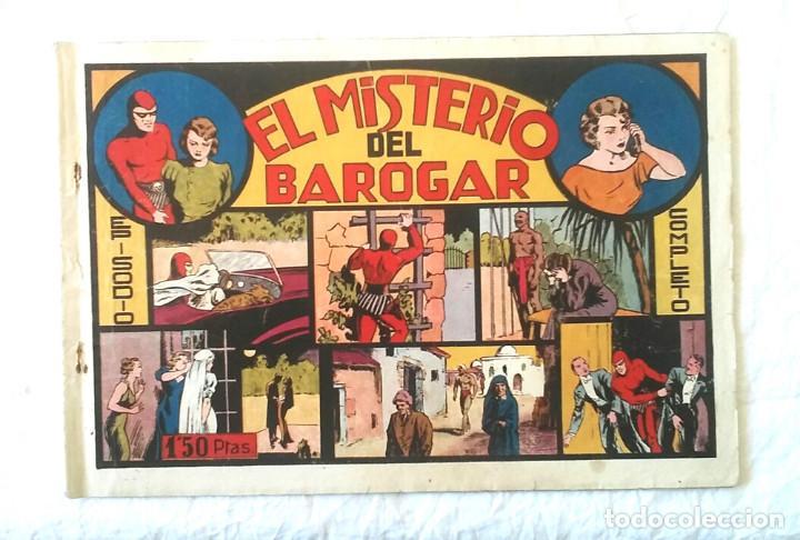 HOMBRE ENMASCARADO EL MISTERIO DE BAROGAR, HISPANO AMERICANA AÑO 43, ORIGINAL (Tebeos y Comics - Hispano Americana - Hombre Enmascarado)