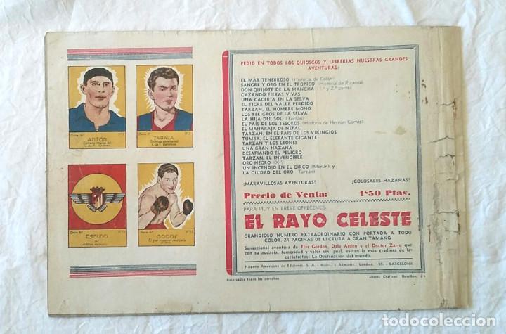 Tebeos: Hombre Enmascarado El Misterio de Barogar, Hispano Americana año 43, original - Foto 2 - 260448740