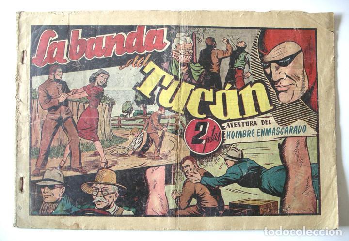 EL HOMBRE ENMASCARADO Nº 46 LA BANDA DEL TUCAN (Tebeos y Comics - Hispano Americana - Hombre Enmascarado)