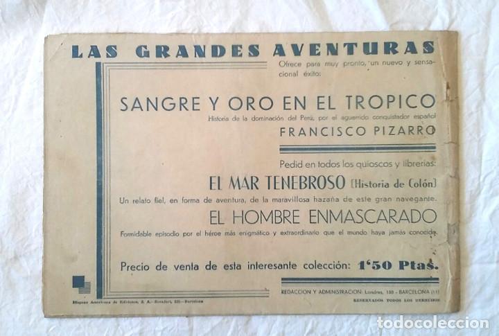 Tebeos: Hombre Enmascarado nº 2 La Venganza de Singh, Hispano Americana año 43, original - Foto 2 - 260448800