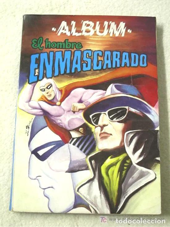 EL HOMBRE ENMASCARADO ALBUM RETAPADO 4 NÚM, DEL 35 AL 38 (Tebeos y Comics - Hispano Americana - Hombre Enmascarado)