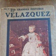 Tebeos: VELAZQUEZ. LOS GRANDES PINTORES Nº 6. ED. HISPANO AMERICANA, PYMY 108. Lote 261598240