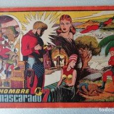 Tebeos: EL HOMBRE ENMASCARADO Nº 7 - TOMO ROJO - AÑOS 40 - HISPANO AMERICANA. Lote 261695265