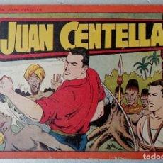 Tebeos: JUAN CENTELLA Nº 12 - TAMAÑO GRANDE - AÑOS 40 - HISPANO AMERICANA. Lote 261698085