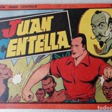 Tebeos: JUAN CENTELLA Nº 13 - TAMAÑO GRANDE - AÑOS 40 - HISPANO AMERICANA. Lote 261698960