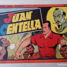 Tebeos: JUAN CENTELLA Nº 13 - TAMAÑO GRANDE - AÑOS 40 - HISPANO AMERICANA. Lote 261722510
