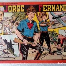 Livros de Banda Desenhada: JORGE Y FERNANDO Nº 8 - TAMAÑO GRANDE - TOMO ROJO - AÑOS 40 - HISPANO AMERICANA. Lote 261762305