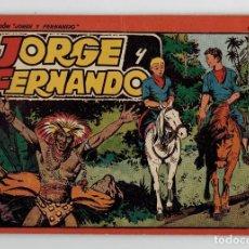Livros de Banda Desenhada: JORGE Y FERNANDO Nº 5 - TOMO ROJO - AÑOS 40 - HISPANO AMERICANA. Lote 261770080