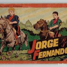 Tebeos: JORGE Y FERNANDO Nº 4 - TOMO ROJO - AÑOS 40 - HISPANO AMERICANA. Lote 261772765