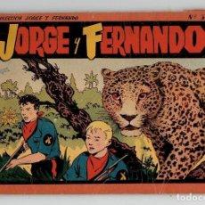 Tebeos: JORGE Y FERNANDO Nº 3 - TOMO ROJO - AÑOS 40 - HISPANO AMERICANA. Lote 261777940