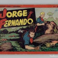 Tebeos: JORGE Y FERNANDO Nº 2 - TOMO ROJO - AÑOS 40 - HISPANO AMERICANA. Lote 261779010