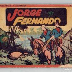 Tebeos: JORGE Y FERNANDO Nº 1 - TOMO ROJO - AÑOS 40 - HISPANO AMERICANA. Lote 261780600
