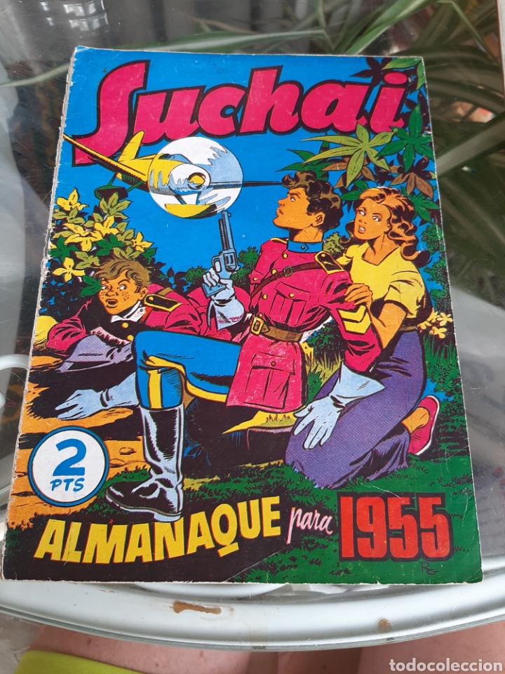 ALMANAQUE SUCHAI 1955 (Tebeos y Comics - Hispano Americana - Suchai)