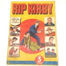 Tebeos: RIP KIRBY Nº 1 EDITORIAL HISPANO AMERICANA AÑO 1947 ORIGINAL. Lote 262049815