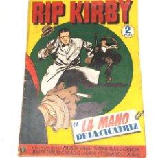 Tebeos: RIP KIRBY Nº 2 EN LA MANO DE LA CICATRIZ EDITORIAL HISPANO AMERICANA AÑO 1947 ORIGINAL. Lote 262050045