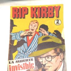 Tebeos: RIP KIRBY Nº 3 LA MUERTE INVISIBLE EDITORIAL HISPANO AMERICANA AÑO 1947 ORIGINAL. Lote 262050515