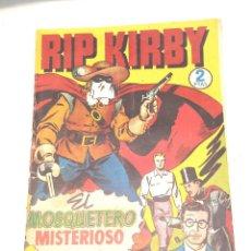 Tebeos: RIP KIRBY Nº 4 EL MOSQUETERO MISTERIOSO EDITORIAL HISPANO AMERICANA AÑO 1947 ORIGINAL. Lote 262050970
