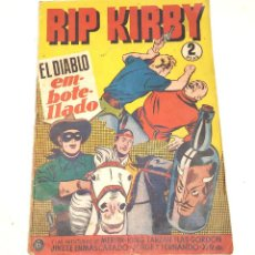 Tebeos: RIP KIRBY Nº 6 EL DIABLO EMBOTELLADO EDITORIAL HISPANO AMERICANA AÑO 1947 ORIGINAL. Lote 262051335
