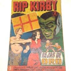 Tebeos: RIP KIRBY Nº 9 REJAS DE ORO EDITORIAL HISPANO AMERICANA AÑO 1947 ORIGINAL. Lote 262052100