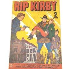 Tebeos: RIP KIRBY Nº 10 LA ALDEA MUERTA EDITORIAL HISPANO AMERICANA AÑO 1947 ORIGINAL. Lote 262052450