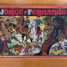 Tebeos: JORGE Y FERNANDO - TOMO ROJO N*7 HISPANO AMERICANA. Lote 262210275