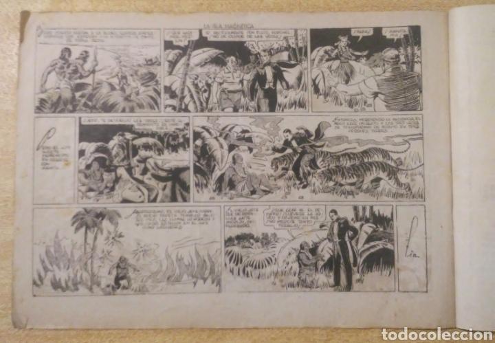 Tebeos: La isla magnética con Merlin el rey de la magia original ed. hispanoamericana - Foto 2 - 262100435