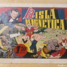 Tebeos: LA ISLA MAGNÉTICA CON MERLIN EL REY DE LA MAGIA ORIGINAL ED. HISPANOAMERICANA. Lote 262100435