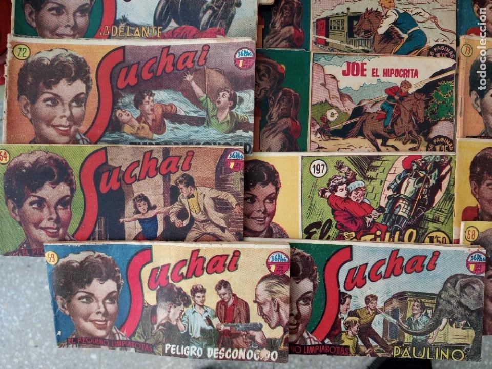 Tebeos: Lote de 30 comics editorial hispano americana años 50: Suchai,Tim el pequeño vagabundo,etc..... - Foto 6 - 262876225