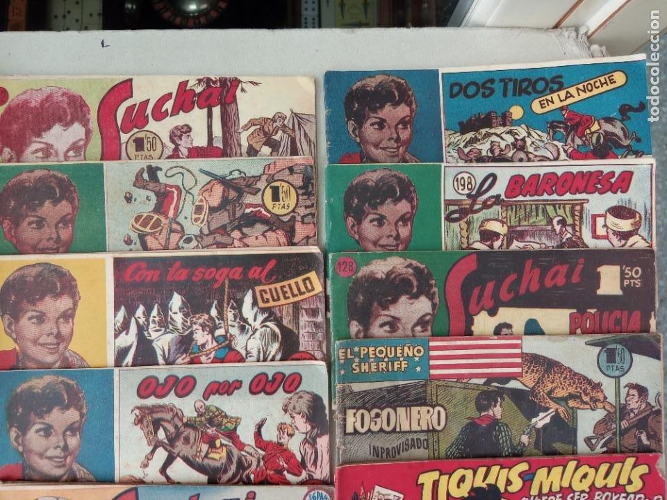 Tebeos: Lote de 30 comics editorial hispano americana años 50: Suchai,Tim el pequeño vagabundo,etc..... - Foto 9 - 262876225
