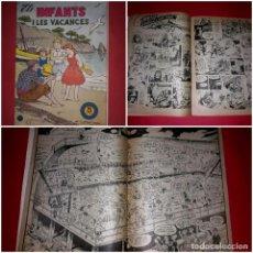 Tebeos: ELS INFANTS I LES VACANCES Nº 4 DE LA PUBLICACIÓ HISPANO AMERICANA 1958. Lote 264056600