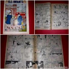 Tebeos: ELS INFANTS I ELS PRIMERS FREDS Nº 6 DE LA PUBLICACIÓ HISPANO AMERICANA 1958. Lote 264060525