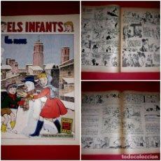 Tebeos: ELS INFANTS LA NEU Nº 8 DE LA PUBLICACIÓ HISPANO AMERICANA 1958. Lote 264065025