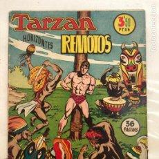 Tebeos: TARZAN HORIZONTES REMOTOS, EXTRA 6, HISPANO AMERICANA, AÑO 1950. Lote 264432404