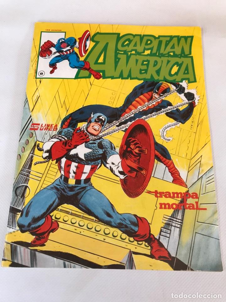 COMIC CAPITAN AMERICA (Tebeos y Comics - Hispano Americana - Capitán Marvel)