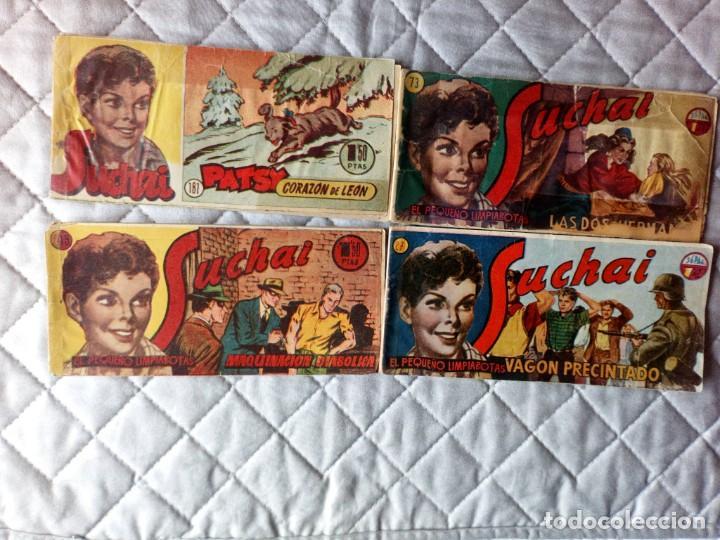 SUCHAI LOTE DE 4 TEBEOS (27-49-73-181) HISPANO AMERICANA (Tebeos y Comics - Hispano Americana - Suchai)