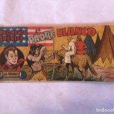 Tebeos: COMIC EL PEQUEÑO SHERIFF Nº 17 EL PADRE BLANCO, DE EDICIONES HISPANO AMERICANA- ORIGINAL. Lote 264819989