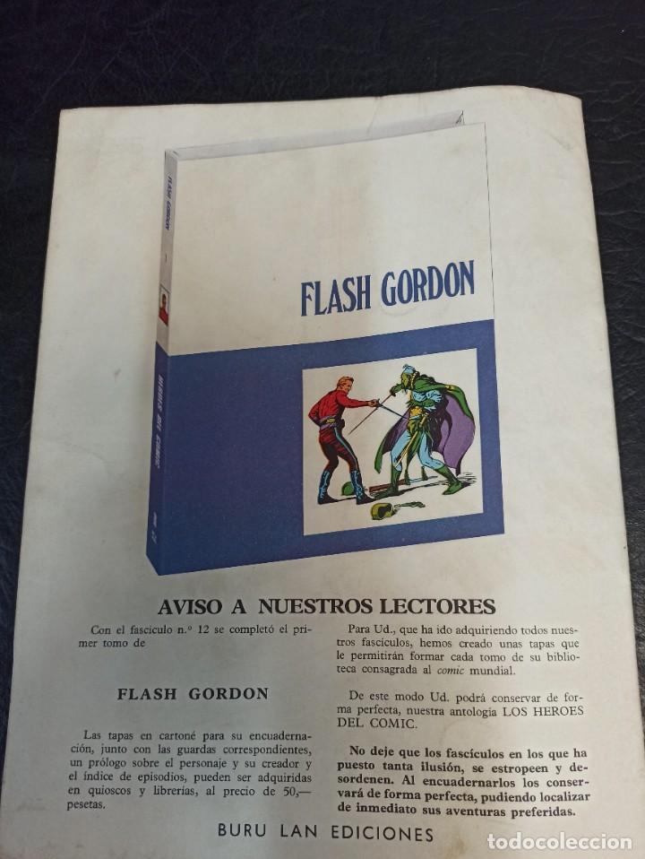 Tebeos: Flash Gordon. Guerra en el mar. Héroes del cómic. N°13 Año 1971 - Foto 2 - 265712169