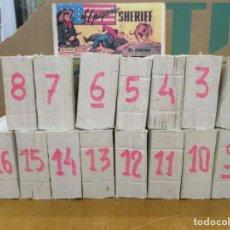 Tebeos: COLECCION COMPLETA EL PEQUEÑO SHERIFF - 16 TOMOS - 270 NUMEROS - HISPANO AMERICANA - REEDICION. Lote 265735234