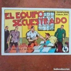 Tebeos: JUAN CENTELLA - EL EQUIPO SECUESTRADO + EN LA BANDA DEL LOCO. NYM 6. REEDICION. Lote 266041048