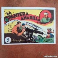 Tebeos: JUAN CENTELLA - LA PANTERA AMARILLA + LA PEÑA DEL SILENCIO. NUM 5. REEDICION. Lote 266041113