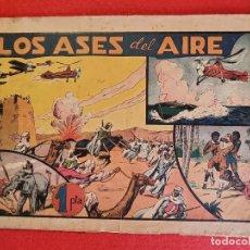 Tebeos: LOS ASES DEL AIRE Nº 9 HISPANO AMERICANA ORIGINAL CT3. Lote 266126403