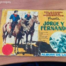 Tebeos: JORGE Y FERNANDO ALBUM LUJO Nº 3 (ORIGINAL DOLAR) (COIB158). Lote 266238358